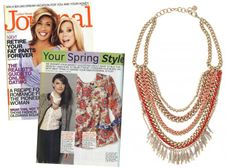 The Carmen Necklace by Stella & Dot featured in Ladies Home Journal  http://www.stelladot.com/denikaclay