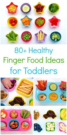 IDEA Health and Fitness Association: 80+ Healthy Finger Food Ideas for Toddlers - Eats ...