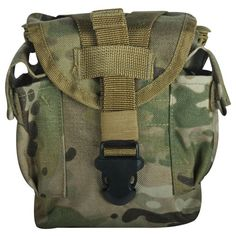 Multicam Canteen Cover Modular 1 QT Cover Military Canteens