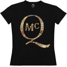 McQ Alexander McQueen Boyfriend Badge T-Shirt   GarmentQuarter