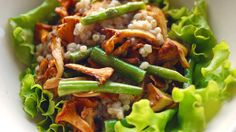 """Hvetotto"" - Hveterisotto med kantareller Tacos, Mexican, Eat, Ethnic Recipes, Food, Meals, Yemek, Eten"