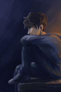Percy Jackson gets sad too