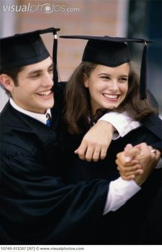 cap and gown couples poses - Google Search