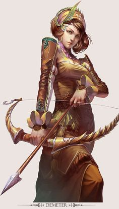 Mythical Character Creations (UPDATE) : Yu Cheng Hong Character Design