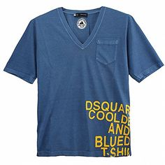 (ディースクエアード) DSQUARED2 S71GD0087 S21600 520 プリント ポケット Vネック Tシャツ 半袖 ネイビー (並行輸入品) RICHJUNE (M) DSQUARED2(ディースクエアード) http://www.amazon.co.jp/dp/B011Z2OWHS/ref=cm_sw_r_pi_dp_qP5Wvb0FAPKA1