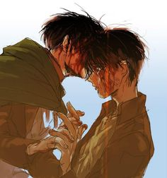 i thought for a moment that Levi have really creppy smile on his face