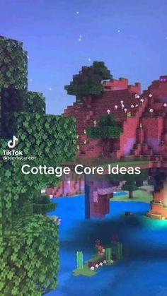 Minecraft Mansion, Minecraft Cottage, Cute Minecraft Houses, Minecraft Room, Minecraft Plans, Minecraft Videos, Amazing Minecraft, Minecraft Blueprints, Minecraft Crafts