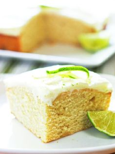 Low FODMAP and Gluten Free Recipe - Lime Cake http://www.ibssano.com/low_fodmap_recipe_lime_cake.html