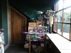 my working room, with lots of light.