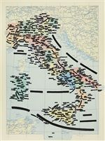 Italia senza Corsica by Emilio Isgrò