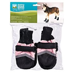 Guardian Gear Oxford Boots for Dogs, Medium, Pink ** More info could be found at the image url.