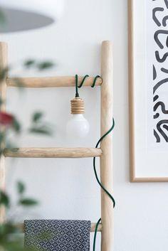 s i n n e n r a u s c h: [Blogvorstellung] Styles & Stories & DIY Leuchte im Industrial Chic