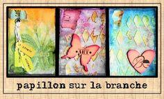 FRANCE PAPILLON (papillon sur la branche) mixed-media and paper artist, and art journaler . . . . . . . . . Blog: http://www.france-papillon.com/ YouTube: http://www.youtube.com/user/francepapillon Pinterest: http://pinterest.com/france_papillon/