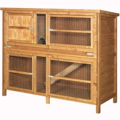 The Hutch Company Chartwell Double Small Animal Hutch 5x4x2' - Kennelgate
