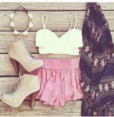 Image via We Heart It #beautiful #beauty #chicas #clothes #conjunto #cute #dress #dresses #fashion #girls #love #moda #outfit #outfits #summer #tacones #modadechicas