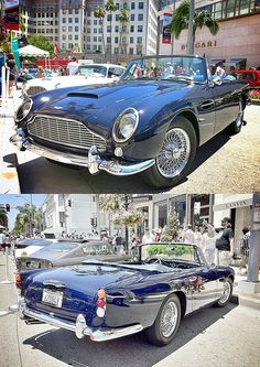 Aston Martin 1962 DB4 Drophead Coupe - seen at the 2012 Rodeo Drive Concours d'Elegance