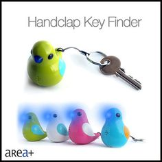 dog bird cat animal barking sound electronic hand clapping rings keyfinder key…