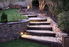 20 Really Interesting Ideas How To Design Stairs In The Garden - Check these out! There are some beautiful designs here!