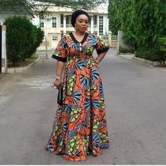 Latest African Fashion Dresses, African Print Dresses, African Dresses For Women, African Print Fashion, African Attire, Gowns For Ladies, African Clothes, African Prints, Ankara Long Gown Styles