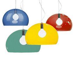 Heal's | Kartell Fl/Y Transparent Pendant Light - Special Order - Pendants - Pendants & Chandeliers - Lighting