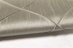 Silver Pintuck linen