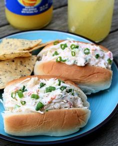 Sriracha Crab Salad Rolls | Mouth-Watering Seafood Recipes You Need To Try by Homemade Recipes at http://homemaderecipes.com/healthy/14-crab-recipes/