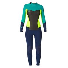 Amazon.com: Roxy Women's 4/3Mm Syncro Gbs Back Zip Fullsuit Black/Pink/Orange (Xkmn) 2: Sports & Outdoors