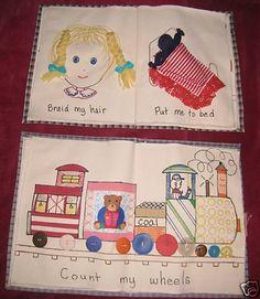 Quiet Books Cloth Activity Busy book Children's Educational Handmade Quiet Books 1561564133   eBay