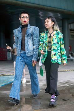 Cool Street Fashion, Street Style, Shanghai, Vogue, Fembois, Street Wear, Spring, Urban Style, Streetwear