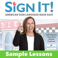 Try SignIt ASL free! Enjoy 9 selected chapters from Unit 1. Learn ASL vocabulary, sentences, and fingerspelling. Test your knowledge with quizzes. Learn new signs with our ASL Dictionary. Get it for your whole family to enjoy.
