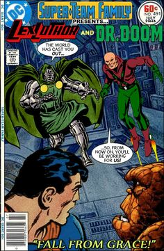 Super-Team Family: The Lost Issues!: Lex Luthor and Dr. Doom