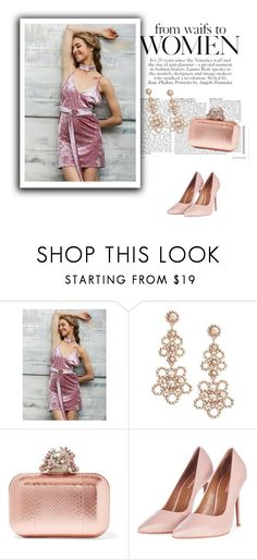 """""""SIMPLEEAPPAREL 13"""" by umay-cdxc ❤ liked on Polyvore featuring Kate Spade, Jimmy Choo and Topshop"""