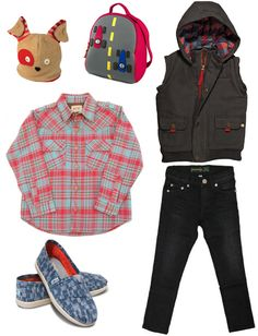 Eco Fall Styles for Kids!