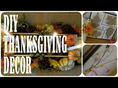 DIY Thanksgiving Decor Loveli Channel - YouTube