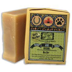 Woof & Hoof: Bug Off Goat's Milk Soap