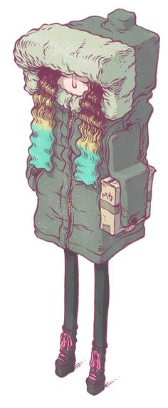 Misc Salad by T Wei, via Behance #illustration #ilustracion