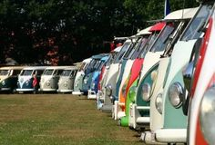 KOMBI PARADE...Re-pin brought to you by agents of #Carinsurance at #HouseofInsurance in Eugene, Oregon