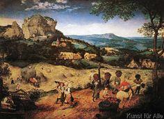 Pieter Bruegel der Ältere - P.Bruegel d.Ä., Heuernte