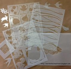 Stencils for StenDoodling Blog Candy on my blog!!  Make sure to enter before September 5th!