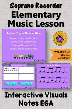 Perfect for your music lesson plans working with with soprano recorders and Ode to Joy! Your students will be very successful these step by step interactive visuals! Music Classroom, Music Teachers, Elementary Music Lessons, Ode To Joy, Music Lesson Plans, Teaching Music, Music Education, Students, Songs