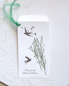 Wedding Wishing Tree - Money Envelopes