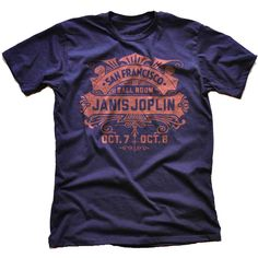 October T-Shirt – Janis Joplin Shop