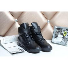 Chanel 2015 new style leather Boots CB069