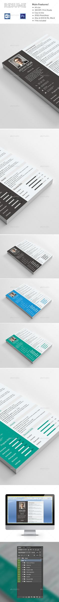 Clean Resume Download%0A Resume   Modern resume template  Modern resume and Simple resume template