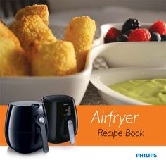 This page lists recipe sources for the Philip's Airfryer. Most of the recipes should work equally well for other basket-type air fryers. Official AirFryer Re