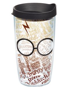 Harry Potter™ - Glasses and Scar - Wrap With Lid | 16oz Tumbler | Tervis®