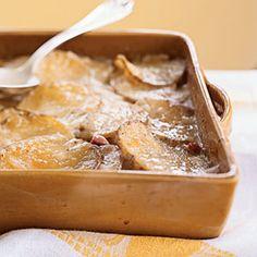 Ham and Gruyère Potato Gratin - 80 Healthy Casseroles - Cooking Light Top Recipes, Side Dish Recipes, Cooking Recipes, Side Dishes, Quick Recipes, Main Dishes, Healthy Recipes, Fruit Recipes, Light Recipes