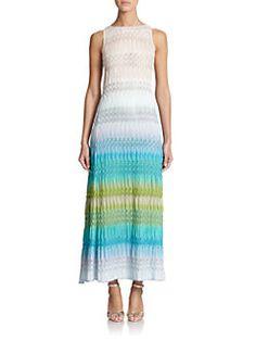 Missoni - Striped Knit Tank Dress