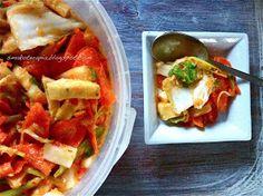 KIMCHI czyli kiszenie po koreańsku ;) - Smakoterapia Kimchi, Tacos, Mexican, Vegetarian, Ethnic Recipes, Food, Meals, Mexicans