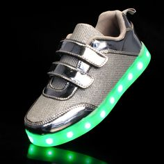 Aliexpress.com : Buy 2018 New EU Size 25 37 Usb Recharge Luminous Sneakers Glowing Girls Sneakers Led Shoes for Boy&girl Baby Shoes Children Slippers from Reliable Sneakers suppliers on time tree